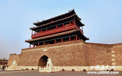 北京城门永定门的历史永定门什么时候建造的