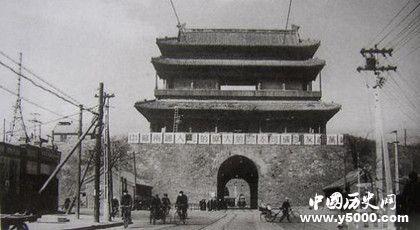 北京城门西直门的历史西直门什么时候建造的